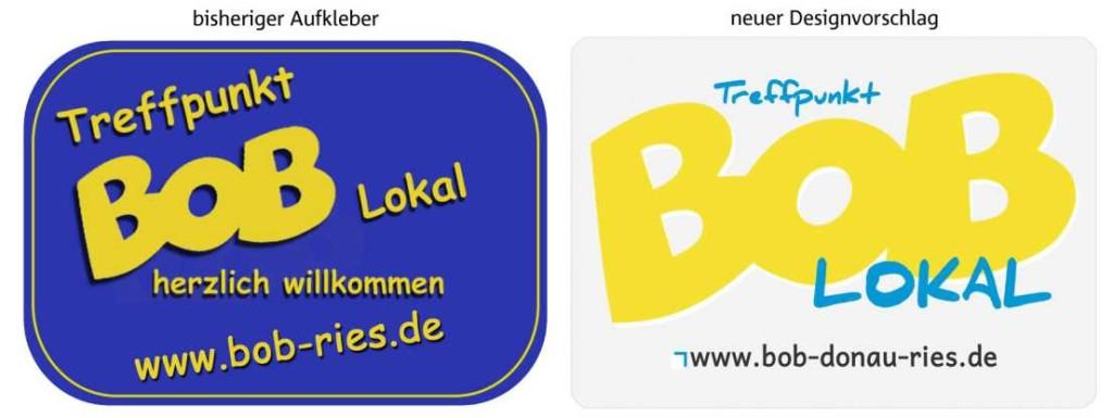 BOB-Aufkleber für teilnehmende Wirte