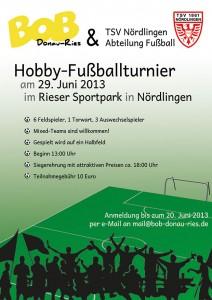 BOB-Hobby-Fußballturnier